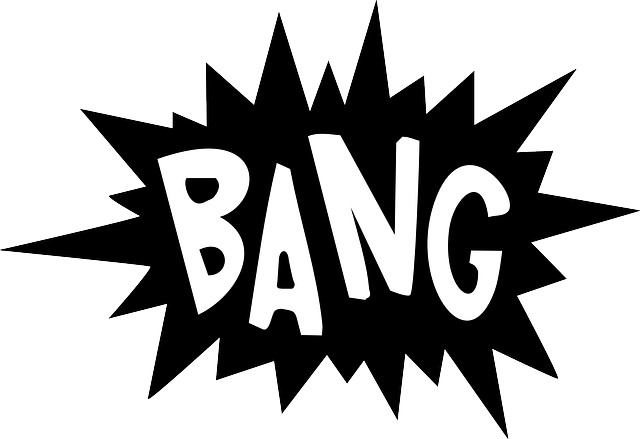 nápis bang