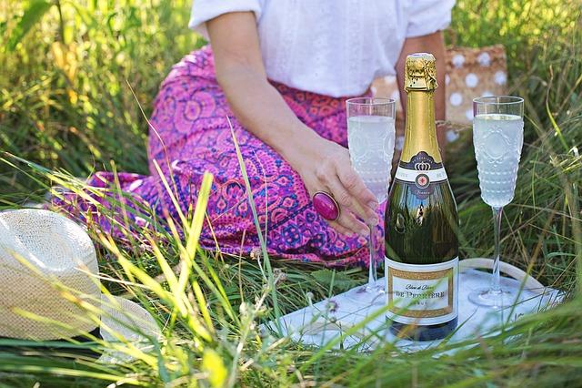 Piknik se šampaňským