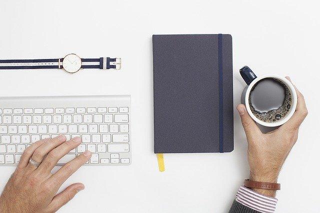 pracovní prostor copywriting